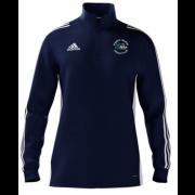 Church Fenton CC Adidas Navy Zip Junior Training Top