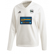 Church Fenton CC Adidas Elite Long Sleeve Sweater