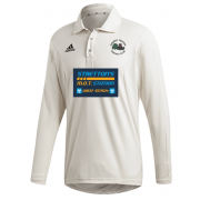 Church Fenton CC Adidas Elite Long Sleeve Shirt