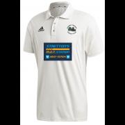 Church Fenton CC Adidas Elite Junior Short Sleeve Shirt