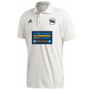 Church Fenton CC Adidas Elite Short Sleeve Shirt