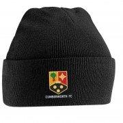 Cumberworth FC Adidas Black Beanie