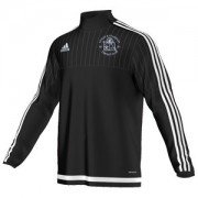 Astley and Tyldesley CC Adidas Black Junior Training Top