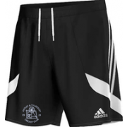 Astley and Tyldesley CC Adidas Black Junior Training Shorts