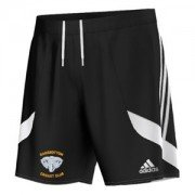 Ramsbottom CC Adidas Black Junior Training Shorts