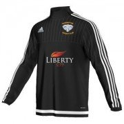 Ramsbottom CC Adidas Black Junior Training Top