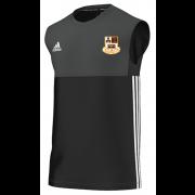 Winsford CC Adidas Black Training Vest