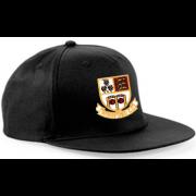 Winsford CC Black Snapback Hat