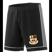 Winsford CC Adidas Black Training Shorts