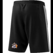 Aston University CC Adidas Black Training Shorts
