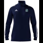 Wath CC Adidas Navy Zip Junior Training Top