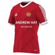 Osbaldwick FC Adidas Red Training Jersey