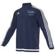 Liverpool John Moore Uni CC Adidas Navy Training Top