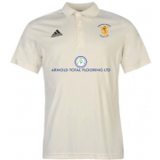 Abberton and District CC Adidas Pro Junior Short Sleeve Polo