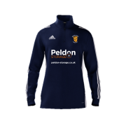 Abberton and District CC Adidas Navy Zip Training Top
