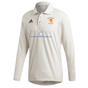 Abberton and District CC Adidas Elite Long Sleeve Shirt