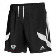 Tenbury CC Adidas Black Training Shorts