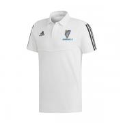 Armagh CC Adidas White Polo Shirt