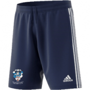 Baldock Town CC Adidas Navy Junior Training Shorts