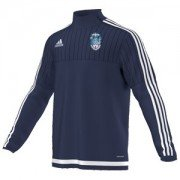 Baldock Town CC Adidas Navy Training Top