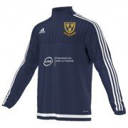 Saintfield CC Adidas Navy Training Top