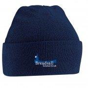 Breadsall CC Adidas Navy Beanie
