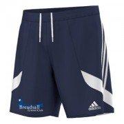 Breadsall CC Adidas Navy Training Shorts