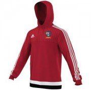 Bentley Colliery CC Adidas Red Hoody