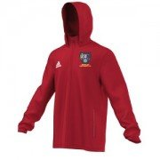 Bentley Colliery CC Adidas Red Rain Jacket