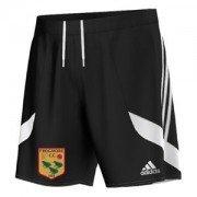 Frogmore CC Adidas Black Training Shorts