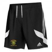 Great Baddow CC Adidas Black Training Shorts
