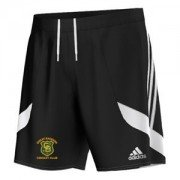 Great Baddow CC Adidas Black Junior Training Shorts