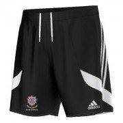 Kendal CC Adidas Black Junior Training Shorts
