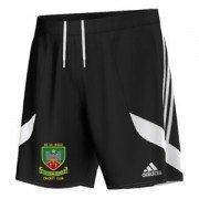 De La Salle CC Adidas Black Training Shorts