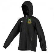 De La Salle CC Adidas Black Rain Jacket