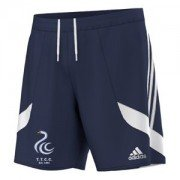 Teddington Town CC Adidas Navy Training Shorts