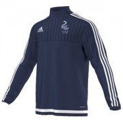 Teddington Town CC Adidas Navy Training Top