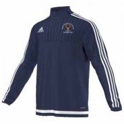 Abbots Bromley CC Adidas Navy Training Top