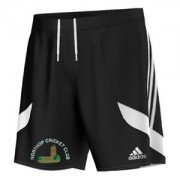 Northop CC Adidas Black Training Shorts