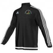 Northop CC Adidas Black Junior Training Top