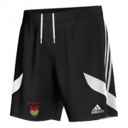 Newtown CC Adidas Black Junior Training Shorts