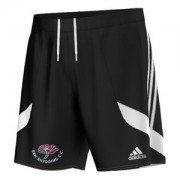 Ben Rhydding CC Adidas Black Training Shorts