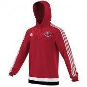 Ben Rhydding CC Adidas Red Hoody