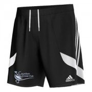 Caunton CC Adidas Black Training Shorts