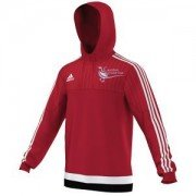Caunton CC Adidas Red Hoody