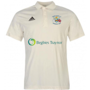 Congleton CC Adidas Pro Junior Short Sleeve Polo