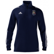 Congleton CC Adidas Navy Zip Junior Training Top