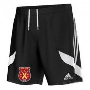Apperknowle CC Adidas Black Junior Training Shorts
