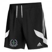 United Hospitals CC Adidas Black Training Shorts