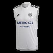Kexborough CC Adidas White Training Vest